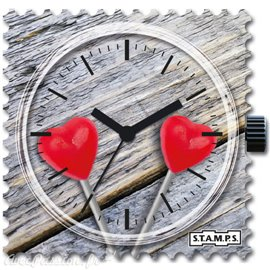 Cadran de montre Stamps coeur lolly for you