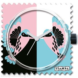 Cadran de montre Stamps colibri
