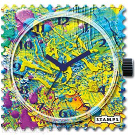 Cadran de montre Stamps painting