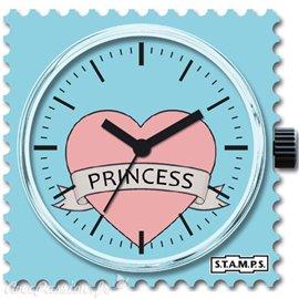 Cadran de montre Stamps coeur princess