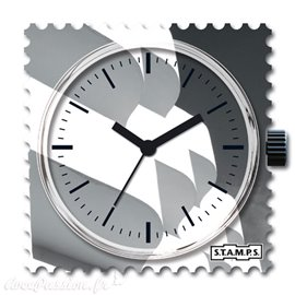 Cadran de montre Stamps curved