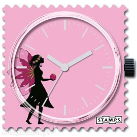 Cadran de montre Stamps pink elf