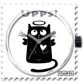 STAMPS Cadran de montre chat upps
