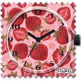 STAMPS Cadran de montre fraises sweet fruit