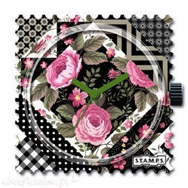 STAMPS Cadran de montre pattern patch
