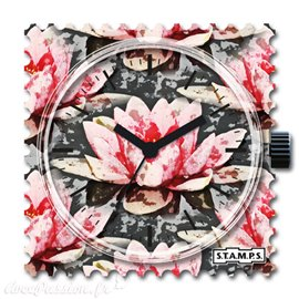 STAMPS Cadran de montre water lily