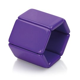 Bracelet élastique de montre Stamps belta violet