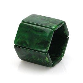 Bracelet élastique de montre Stamps belta vert nacré