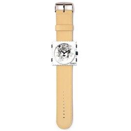 Bracelet de montre Stamps beige