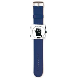 Bracelet de montre Stamps bleu deep nouvelle collection