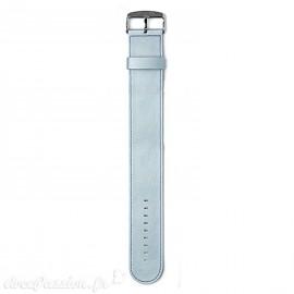 Montre Stamps bracelet de montre bleu ciel satin