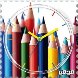 Montre Stamps cadran de montre crayoning