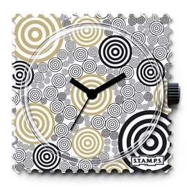 Montre Stamps cadran de montre smaragd
