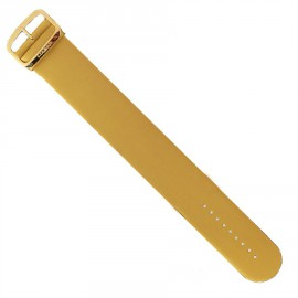Bracelet de montre Stamps doré satin
