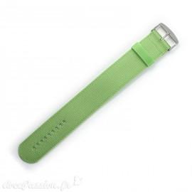Bracelet de montre Stamps vert sport