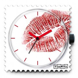 Cadran de montre Stamps kiss me