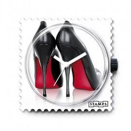 STAMPS Cadran de montre high heels Louboutin