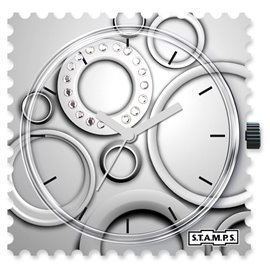 STAMPS Cadran de montre circle diamond
