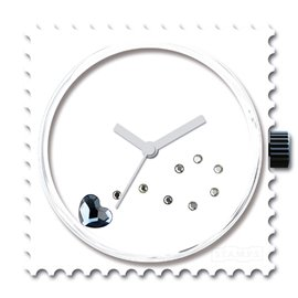 STAMPS Cadran de montre funky blue diamond swarovski