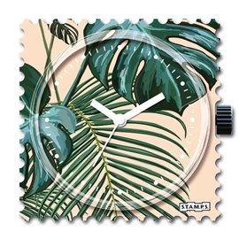 STAMPS Cadran de montre pretty leaves