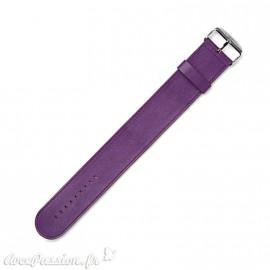Bracelet de montre Stamps violet