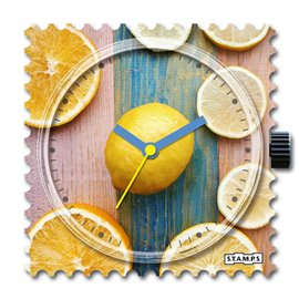 STAMPS Cadran de montre citrus