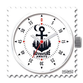 STAMPS Cadran de montre adventure awaits
