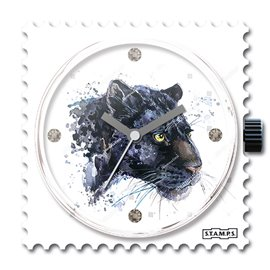 STAMPS Cadran de montre panther swarovski