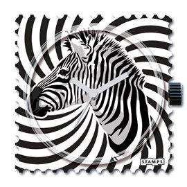 STAMPS Cadran de montre crazy zebra