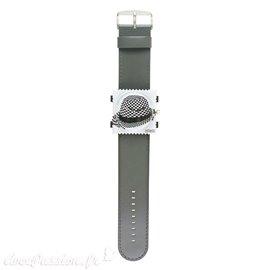 Montre Stamps bracelet de montre Jack Smart gris