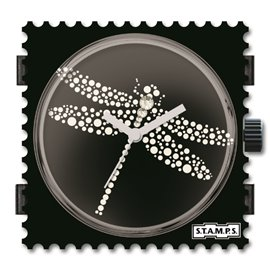 STAMPS Cadran de montre dragonfly swarovski
