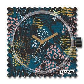 STAMPS Cadran de montre flower print