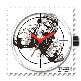 STAMPS Cadran de montre game over
