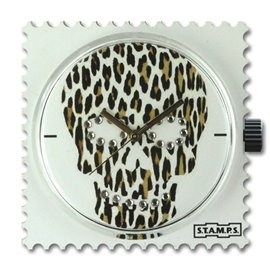 STAMPS Cadran de montre diamond skully leo