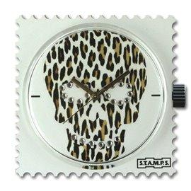 STAMPS Cadran de montre diamond skully leo