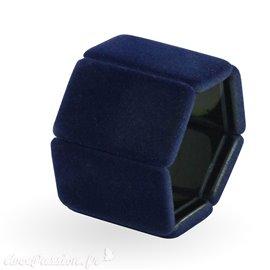 Bracelet élastique de montre Stamps belta dark blue velvet