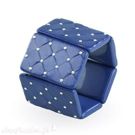 Bracelet élastique de montre Stamps belta royal blue