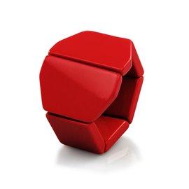 Bracelet élastique de montre Stamps belta Y rouge