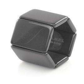Bracelet élastique de montre Stamps belta gris