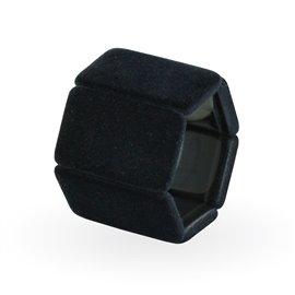 Bracelet élastique de montre Stamps belta noir velours