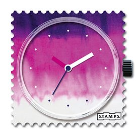 STAMPS Cadran de montre black batik
