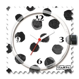 STAMPS Cadran de montre black art