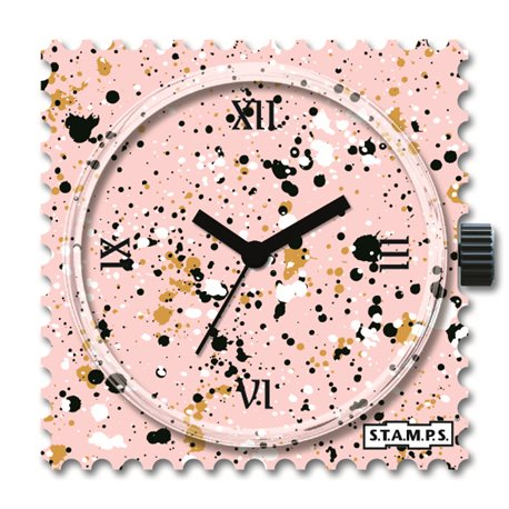 STAMPS Cadran de montre splash in pastel