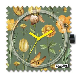 STAMPS Cadran de montre light blossoms
