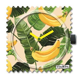 STAMPS Cadran de montre happy banana