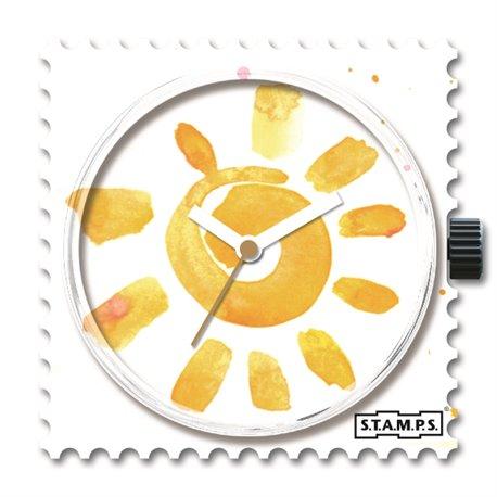 STAMPS Cadran de montre here comes the sun