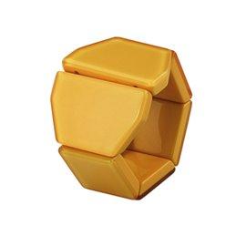 Bracelet élastique de montre Stamps belta Y crystal jaune
