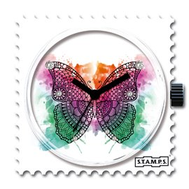 STAMPS Cadran de montre butterfly diamond swarovski