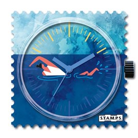 STAMPS Cadran de montre swim
