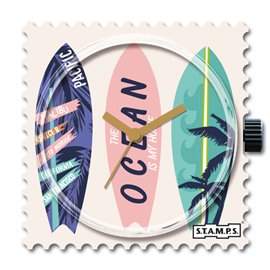 STAMPS Cadran de montre triple surf